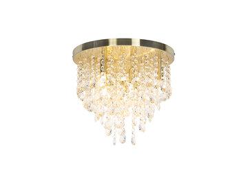 Art Deco Klassische Deckenleuchte Gold / Messing 35 cm - Medusa