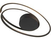 Design Design Deckenleuchte schwarz inkl. LED 3-stufig dimmbar -