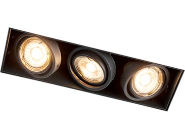 Design,Industrie,Modern Eingebauter Spot Black Swivel und Tilt -