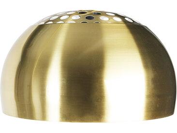 Bogenlampe XXL Schirm Messing
