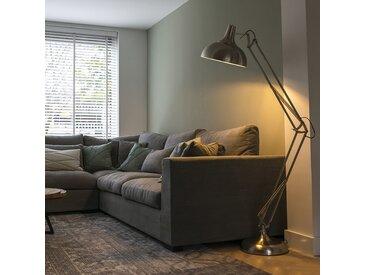 Modern Design Stehlampe Stahl - Hobby E27