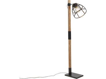 Industrie Industrielle Stehlampe schwarz - Arthur E27