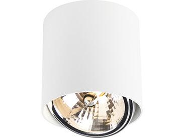 Design,Modern Design Spot Zylinder weiß inkl. LED - Impact-Up G9