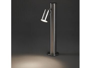 Modern Moderne Außenleuchte Stahl 45 cm verstellbar - Solo GU10
