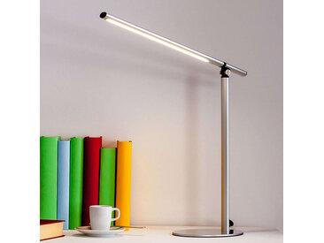 Modern Schlanke silberne Schreibtischleuchte inkl. LED - Kolja