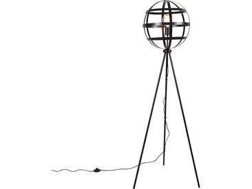 Industrie Industrielle Stehlampe schwarz - Boula E27