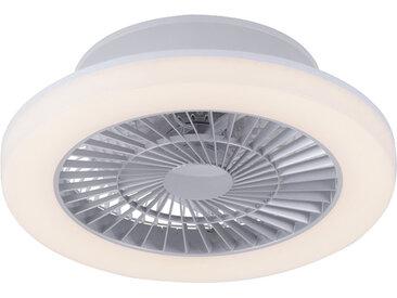 Modern Design Deckenventilator grau inkl. LED - Maki (nicht