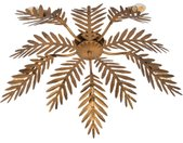 Retro Vintage Deckenleuchte 5-flammig Gold - Botanica E14