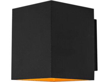 Modern Moderne Wandleuchte schwarz / gold - Sola G9