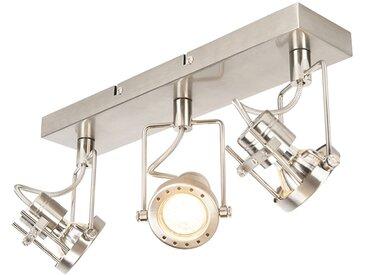 Industrie,Modern Industrieller Spot stahl 3-flammig kippbar -