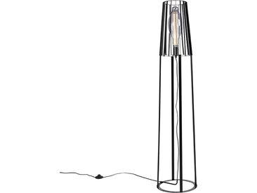 Landhaus Moderne Stehlampe schwarz - Wieza E27