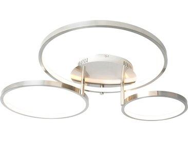 Modern Moderne Deckenleuchte Stahl inkl. LED und Dimmer Rondas