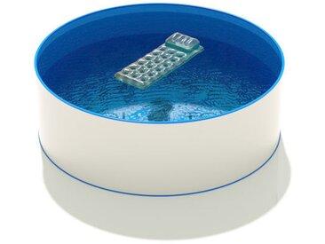 Pool Total - Rundbecken Ø 4,50 m, 1,50 m, Folie blau 0,8 mm