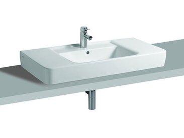 Keramag Renova Nr.1 Plan Aufsatzwaschtisch 85x48cm, Farbe: Weiß, mit KeraTect - 125185600