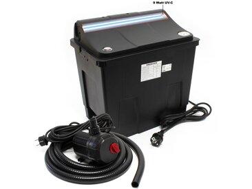 Bio Teichfilter CBF-200T Filteranlage komplett mit 9 W UVC und Teichpumpe 2300 L/h 35 W - Sunsun