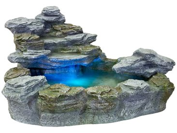STILISTA® Beleuchteter Gartenbrunnen 'OLYMP' Springbrunnen
