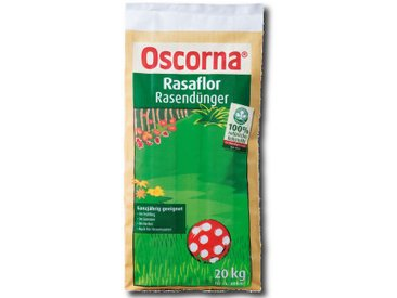 Oscorna Rasaflor Rasendünger 20 kg Naturdünger Organisch Dünger