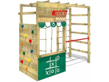 WICKEY Klettergerüst Spielturm Smart Action Gartenspielgerät mit Kletterwand & Spiel-Zubehör