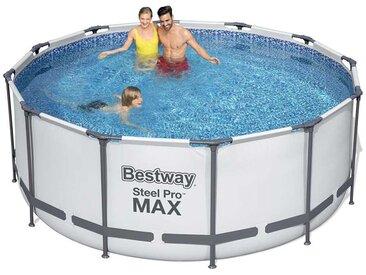 Bestway 56420 Rund Aufstellpool aus Stahl Pro Max 366x122 cm