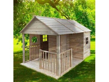 Spielhaus Holz Cottage