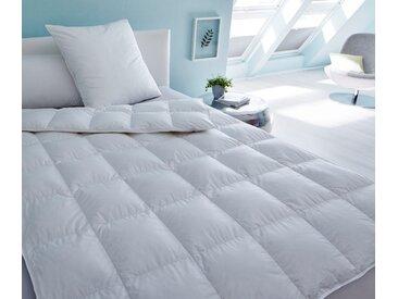 SANDERS OF GERMANY Gänsedaunenbettdecke Prinzessin 800, normal, (1 St.), ein Hauch Extravaganz weiß, 135x200 cm weiß Allergiker Bettdecke Bettdecken Bettdecken, Kopfkissen Unterbetten