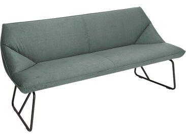 TOM TAILOR Sitzbank CUSHION, mit schmalem Metallgestell, Breite 184 cm B/H/T: x 83 65 cm, Samtstoff STC grün Tom Tailor Stühle und Sitzbänke Premium-Möbel