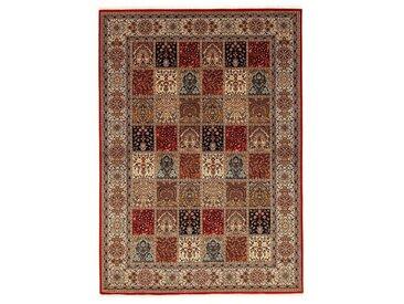Läufer, Amravati, OCI DIE TEPPICHMARKE, rechteckig, Höhe 4 mm, manuell geknüpft 13, 80x300 cm, mm rot Fransenteppiche Teppiche