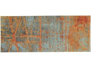 Fußmatte RUSTIC 5 Gr ohne Gummirand, waschbar 2, ca. 70/120 cm orange Fußmatten gemustert