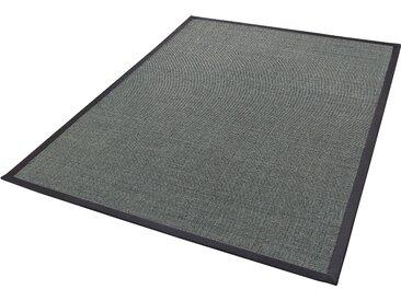 Dekowe Sisalteppich Mara S2 mit Bordüre, rechteckig, 5 mm Höhe, Flachgewebe, Obermaterial: 100% Sisal, Wohnzimmer B/L: 133 cm x 190 cm, 1 St. grau Teppiche