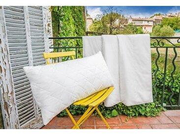 Kunstfaserbettdecke, Royal, Centa-Star, Bezug: 100% Baumwolle weiß, 200x200 cm weiß Microfaserbettdecke Bettdecken Bettdecken, Kopfkissen Unterbetten Bettdecke