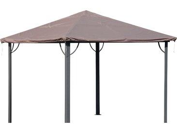 Quick Star Pavillon-Schutzhülle Barcelona 1, für 300x300 cm B/L: 300 x braun Zelte Camping Schlafen Outdoor