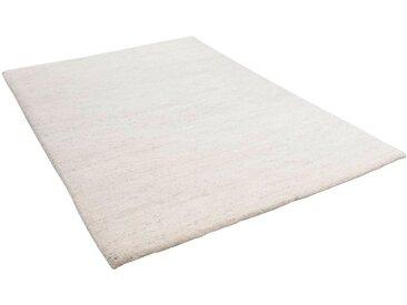 THEKO Wollteppich Maloronga Uni, rechteckig, 24 mm Höhe, echter Berber, reine Wolle, Wohnzimmer 120x180 cm, beige Schlafzimmerteppiche Teppiche nach Räumen