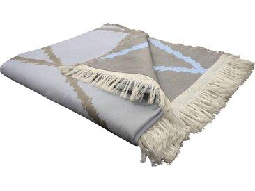 Wohndecke Casket Valdelana, Adam 145x190 cm, Baumwolle beige Baumwolldecken Decken Wohndecken