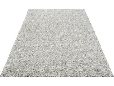 Home affaire Hochflor-Teppich Shaggy 30, rechteckig, 30 mm Höhe, gewebt, Wohnzimmer B/L: 280 cm x 390 cm, 1 St. silberfarben Schlafzimmerteppiche Teppiche nach Räumen