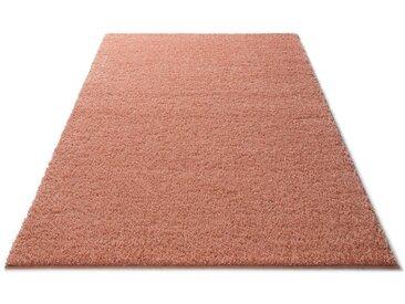 Home affaire Hochflor-Teppich Shaggy 30, rechteckig, 30 mm Höhe, gewebt, Wohnzimmer B/L: 280 cm x 390 cm, 1 St. orange Esszimmerteppiche Teppiche nach Räumen