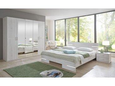 Wimex Schlafzimmer-Set Anna (Set, 4-tlg) Einheitsgröße weiß Komplett Schlafzimmer Betten Schlafzimmermöbel-Sets