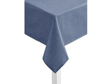 Tischdecke B/L: 130 cm x 220 blau Tischdecken Tischwäsche