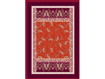 Plaid Raffaello, Bassetti 135x190 cm, Baumwolle rot Baumwolldecken Decken Wohndecken