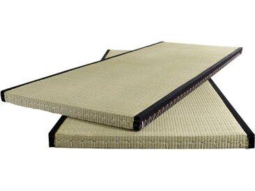 Futonmatratze Tatami, Karup Design, 5,5 cm hoch 5 (0-160 kg), 1x 80x200 cm, ca. grün Matratzen Lattenroste Möbel Matratze