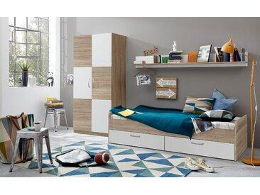 trendteam Jugendzimmer-Set Canaria (Set, 3-tlg) Einheitsgröße beige Kinder Komplett-Jugendzimmer Jugendmöbel Kindermöbel Schlafzimmermöbel-Sets