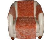 Wirth Sofaläufer Miriam, rechteckig, 5 mm Höhe B/L: 40 cm x 200 cm, 1 St. orange Sesselschoner Hussen Überwürfe