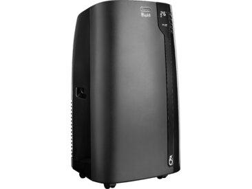 De'Longhi Klimagerät PAC EX120 SILENT, Mobiles mit Entfeuchtungs-Funktion Kühlen: A (A+++ bis D) Einheitsgröße schwarz Klimageräte, Ventilatoren Wetterstationen SOFORT LIEFERBARE Haushaltsgeräte
