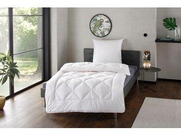 Naturhaarbettdecke + Kopfkissen, Yak, Irisette Sale, (Spar-Set) weiß, 1x 155x220 cm 80x80 weiß Naturfaser Bettdecke Bettdecken Bettdecken, Kopfkissen Unterbetten Bettwaren-Sets