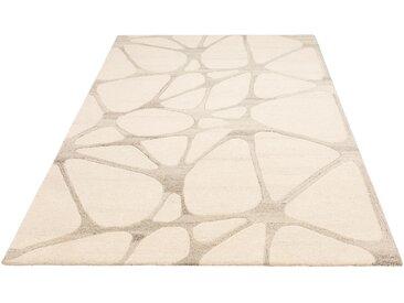 Wollteppich, Almina, Theko Exklusiv, rechteckig, Höhe 14 mm, handgetuftet 8, 300x400 cm, mm grau Teppiche Fußmatten Nachhaltige Heimtextilien
