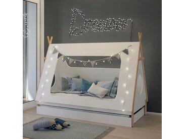 Lüttenhütt Kinderbett Dolidoo 90x200 cm weiß Kinder Kinderbetten Kindermöbel Betten