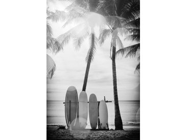 queence Acrylglasbild Surfboards B/H/T: 100 cm x 150 2,4 schwarz Acrylglasbilder Bilder Bilderrahmen Wohnaccessoires