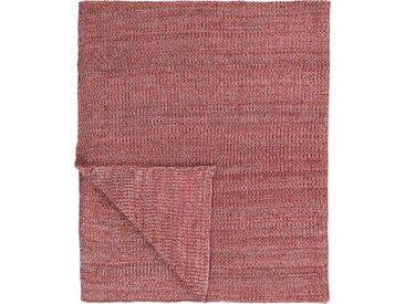 Plaid Kuara, Marc O'Polo Home 130x170 cm, Baumwolle rosa Baumwolldecken Decken Wohndecken