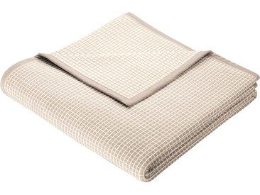 Wohndecke New Cotton, BIEDERLACK 150x200 cm, Baumwolle-Polyester braun Baumwolldecken Decken Wohndecken
