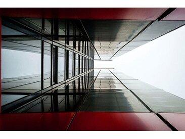 Places of Style Acrylglasbild Hochhaus 150x100 cm, bunt Acrylglasbilder Bilder Bilderrahmen Wohnaccessoires