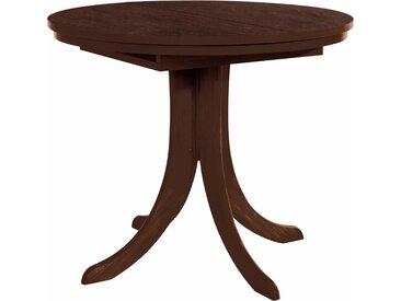 Esstisch Rom, ausziehbar auf 125 cm mit Auszug beige Holz-Esstische Holztische Tische Tisch